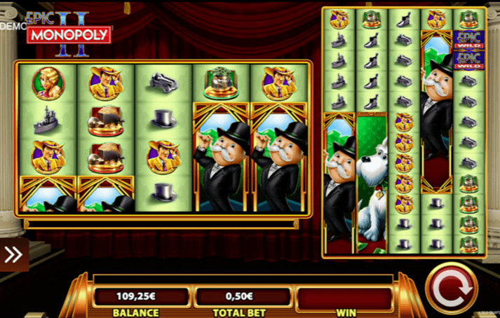 Play Epic Monopoly II online slot for free