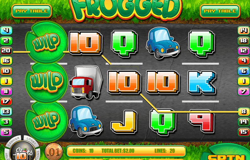 Play Frogged Online Slot For Free