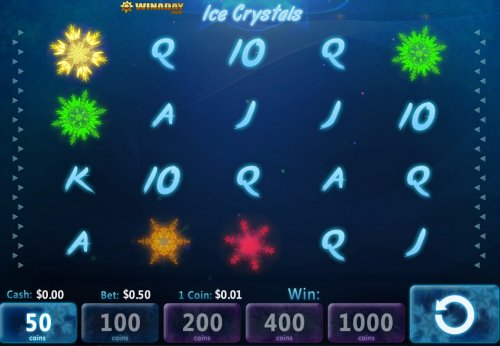 Play Ice Crystals Online Video Slot For Free