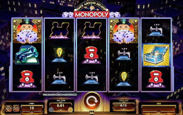 Play Monopoly Once Around Deluxe Video Slot For Free