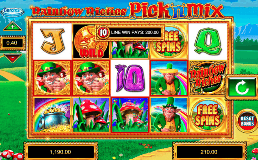 Play Rainbow Riches Online Slot For Free