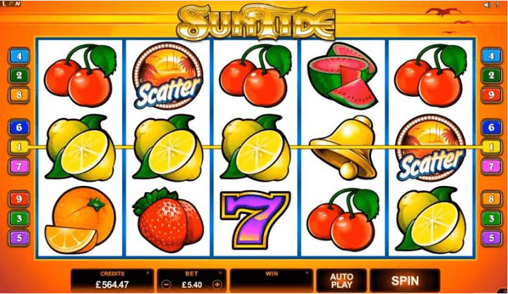 Play Suntide Online Slot For Free