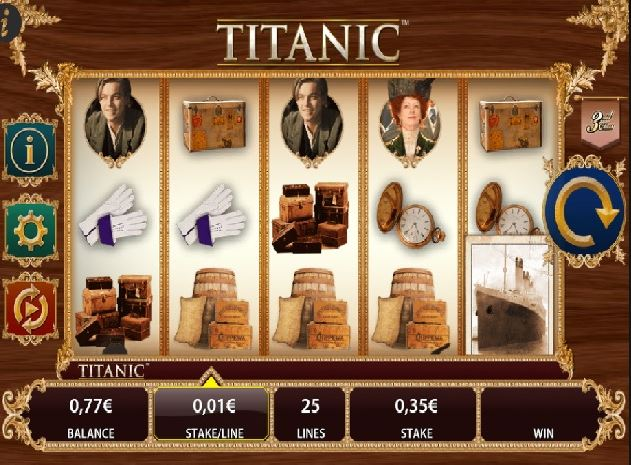 Play Titanic Online Video Slot For Free