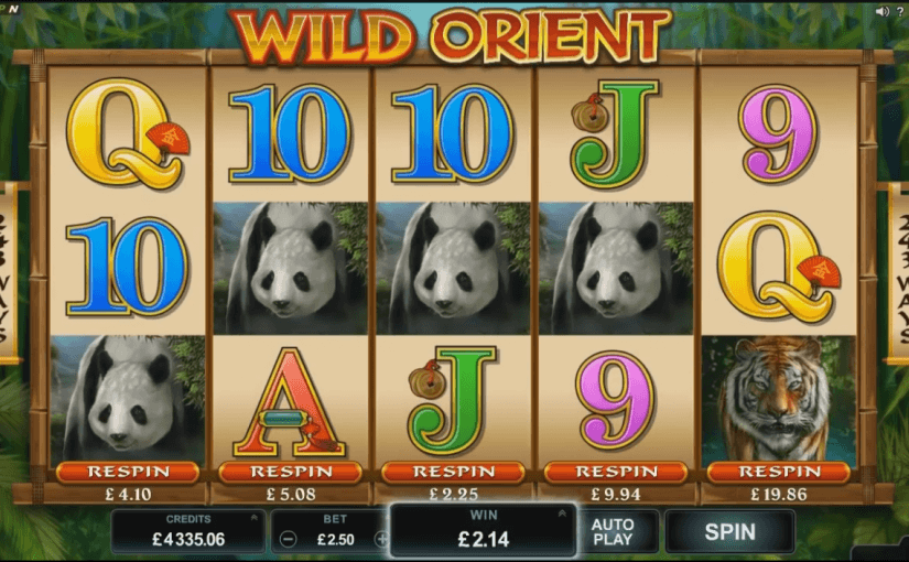 Wild Orient Video Slot