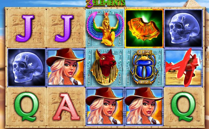 Play 3 Elements Online Video Slot For Free