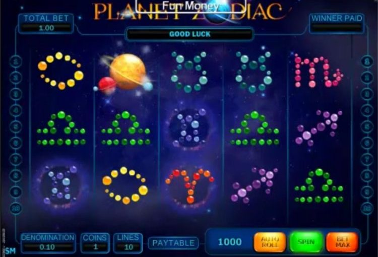 Play Planet Zodiac Online Slot For Free