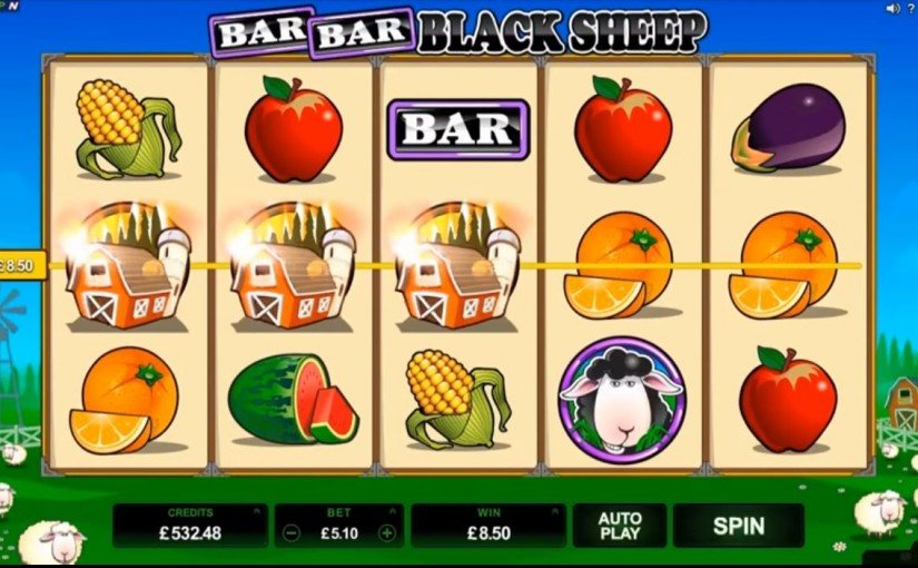 Play Bar Bar Black Sheep Online Video Slot