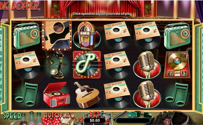 Play The Big Bopper Online Slot For Free