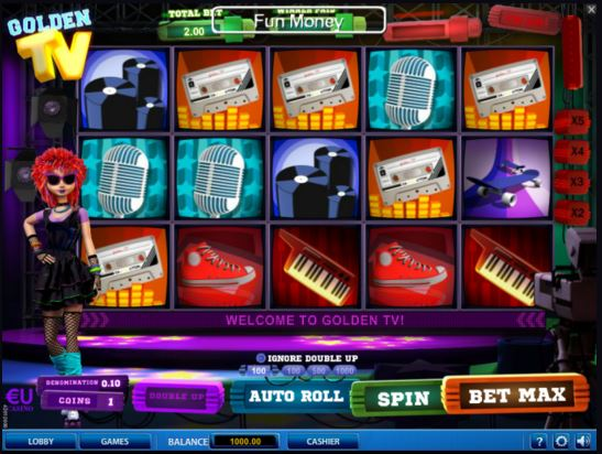 Play Golden TV Online Slot For Free