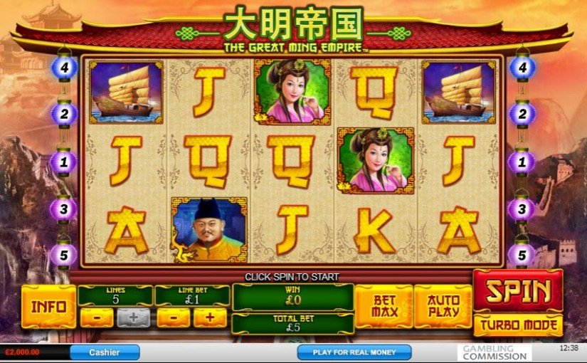 The Great Ming Empire Online Slot For Free