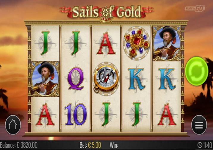 PLay Sails Of Gold Online Slot For Free