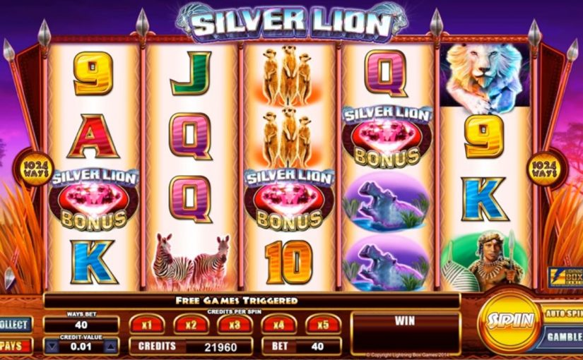 Play Silver Lion Online Slot For Free