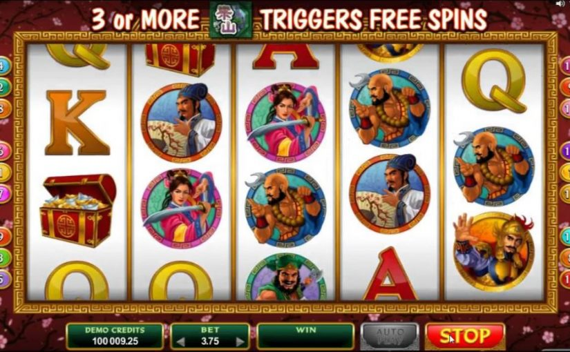 Play 108 Heroes Online Slot For Free