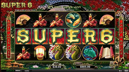 PLay Super 6 Online Slot For Free