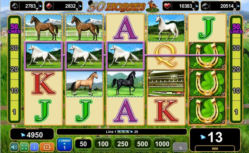 Play 50 Horses Online Slot For Free