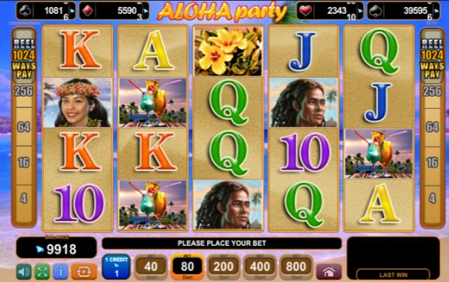 Play Aloha Party Online Slot For Free