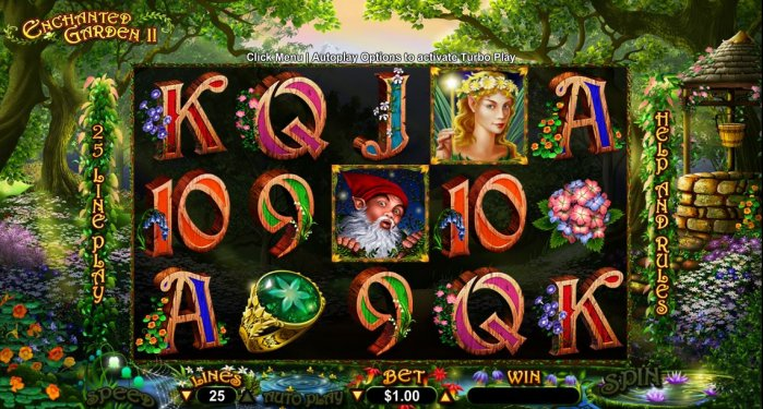 free slot games enchanted garden