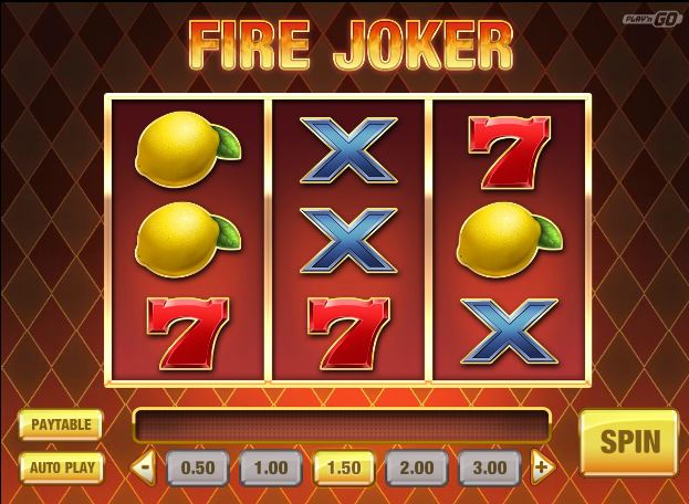 Play Fire Joker Online Slot For Free