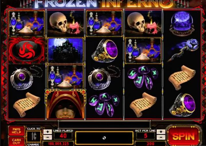 PLay Frozen Inferno Online Slot For Free