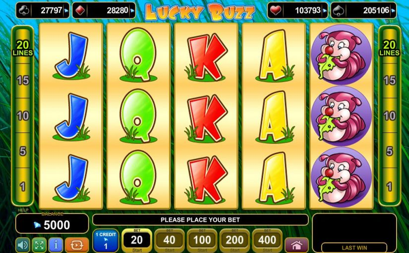 Play Lucky Buzz Online Video Slot For Free