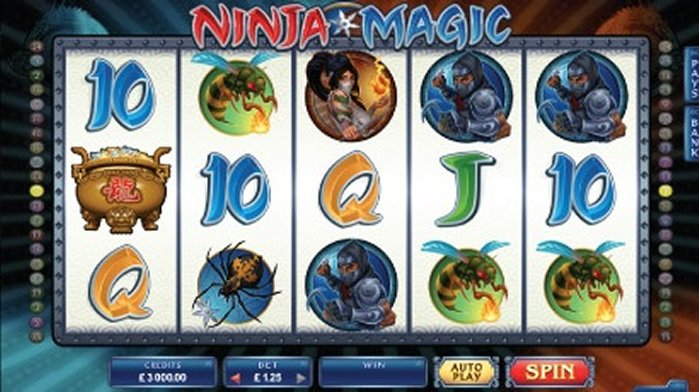 Play Ninja Magic Online Slot For Free
