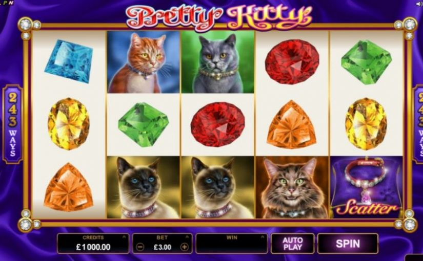 PLay Pretty Kitty Online Slot For Free
