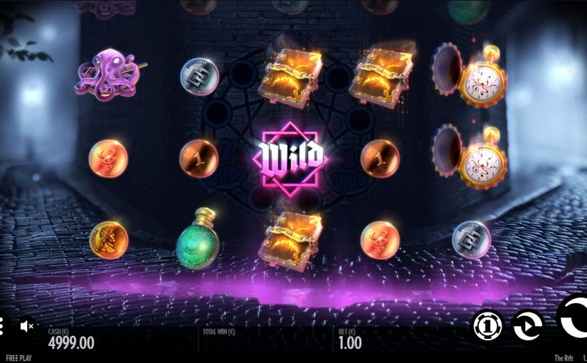 PLay The Rift Online Slot For Free