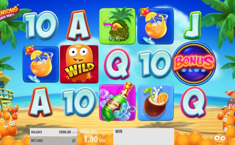 Play Spinions Beach Party For Free