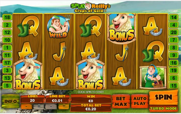 Play Spud O'Reilly's Crops of Gold Online Slot For Free