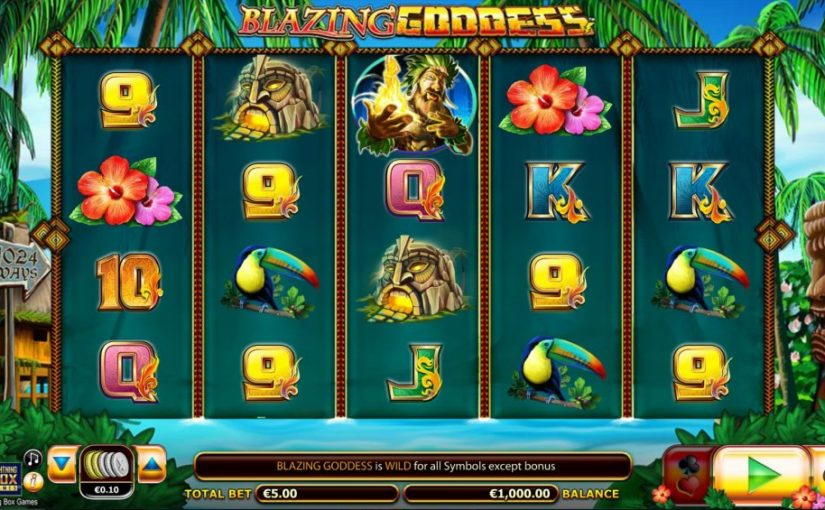 Play Blazing Goddess Online Slot For Free