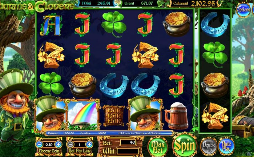 Charms & Clovers Slots - Play Online Slot for Free