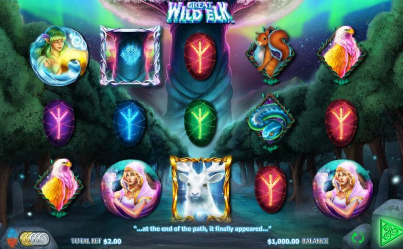 PLay The Great Wild Elk Online Slot For Free