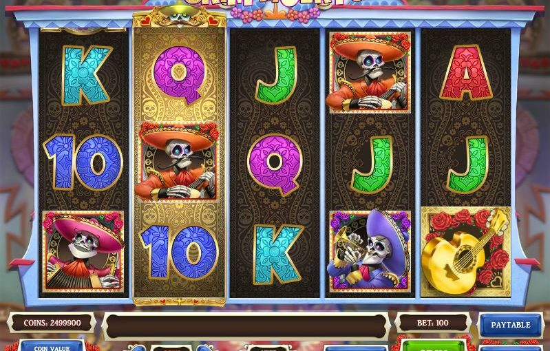 _lay Grim Muerto Online Slot For Free