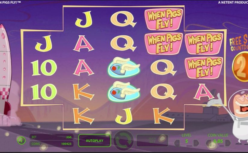 free online casino slot games for fun when pigs fly