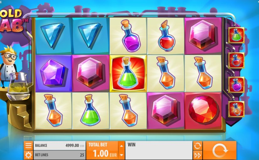 Play Gold Lab Online Video Slot For Free