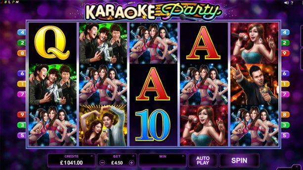 Play Karaoke Online Slot