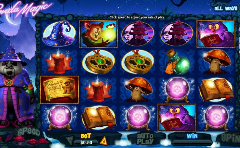 Play Panda Magic Online Video Slot For Free