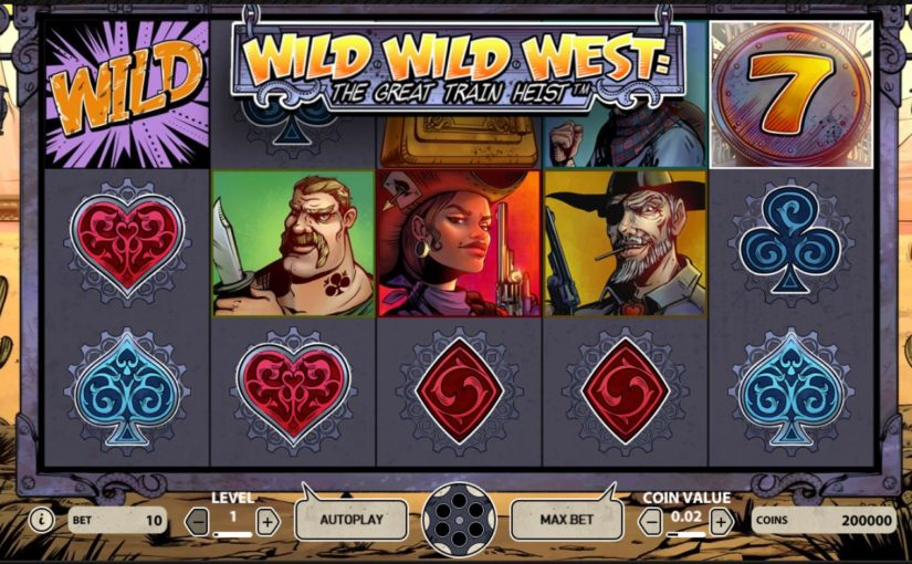 Play Wild Wild West: The Great Train Heist Online For Free