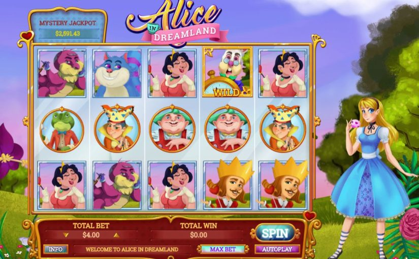 Play Alice In Dreamland Online Slot For Free