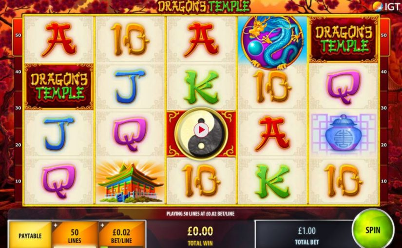 PLay Dragon's Temple Online Slot For Free
