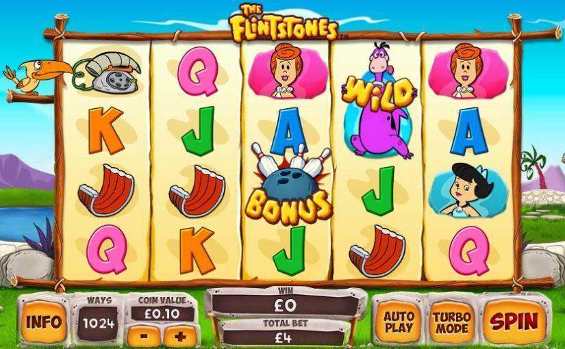 Play Flintstones online slot for free