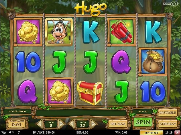 Play Hugo Online Video Slot For Free