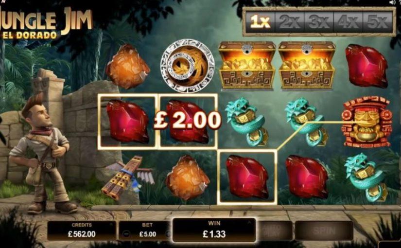 PLay Jungle Jim El Dorado Slot Online For Free