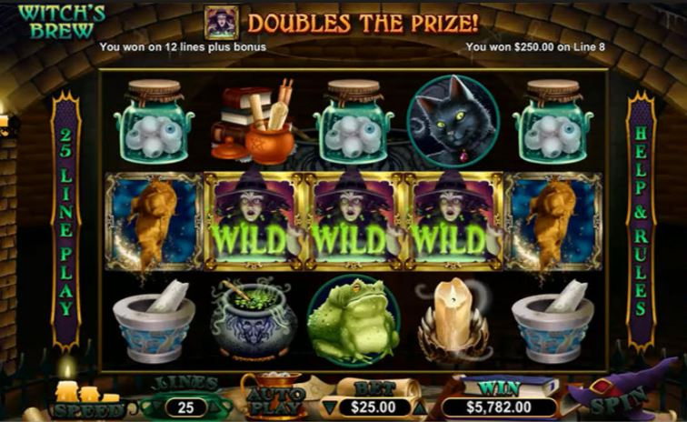 Play Witches Brew Online Slot for Free
