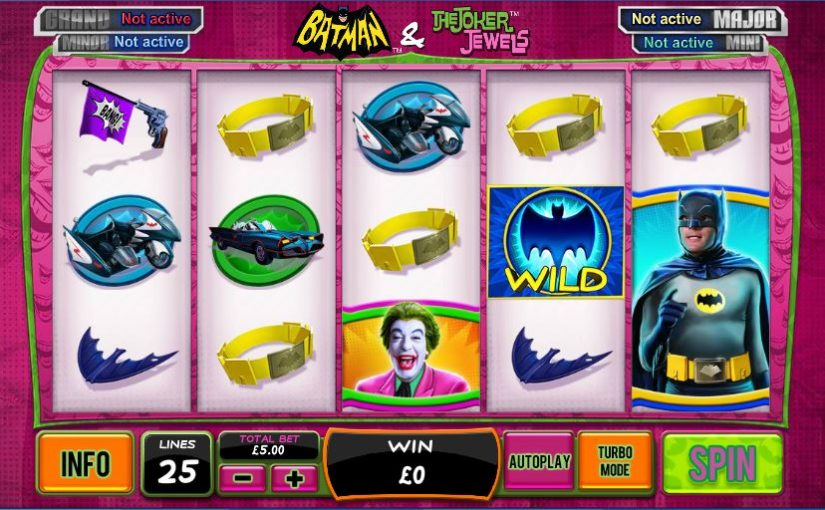 Play Batman And The Joker Jewels Online Slot For Free