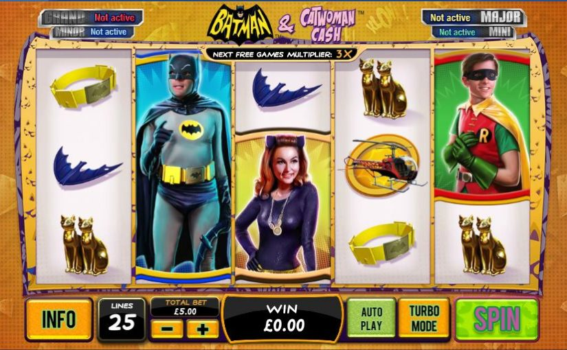 Play Batman And Catwoman Cash Online Slot For Free