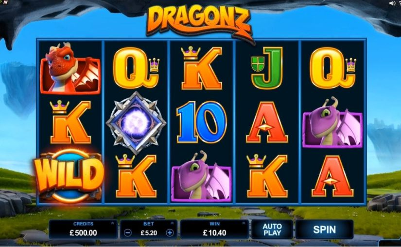 Play Dragonz Online Video Slot For Free