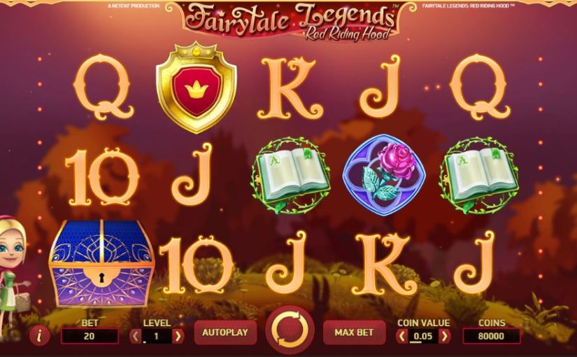 Play Fairytale Legends: Red Riding Hood slot at Casumo