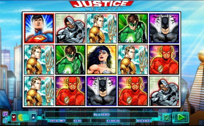 Play Justice League Online Slot For Free