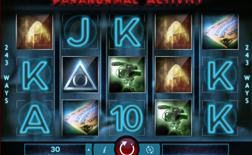 Play Paranormal Activity Online Slot For Free